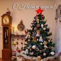 Сцена Новогоднего,домашнего декора! :: Mila .