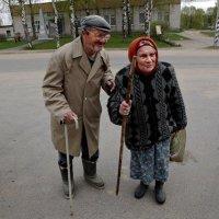 Старик со старухой :: irina Schwarzer