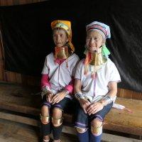 Мьянма женщины с длинными шеями :: Andrey Vaganov