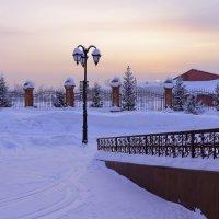 Рождественский закат :: Нина северянка