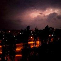 Грозовая летняя ночь :: Самохвалова Зинаида