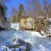 Замерзший водопад :: Эдуард Куклин