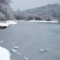 Зимний пейзаж :: Тамара Бучарская