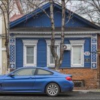 Синий автомобиль :: Александр Тарноградский