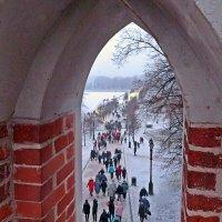 Прогулки с  друзьями в  Царицыно. :: Виталий Селиванов
