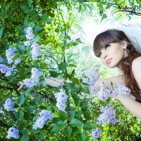 Цветок в сирени... :: Елена Левчук