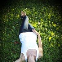Зеленая, зеленая трава... :: Евгения Лисина