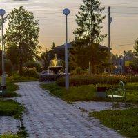 Вечер в центральном парке :: Татьяна Воробьева
