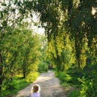 Ну как мне убежать от тени? :: Ирина Данилова