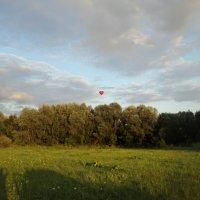 Россия! Свадебное путешествие на воздушном шаре в виде сердца. :: Ольга Кривых