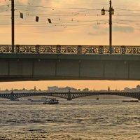 Мосты над Невой :: Олег Попков
