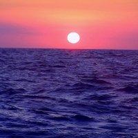 Закт в океане... :: Maks Seamen