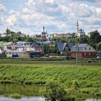Мы улетаем налегке. Церквушки, домики, и башни, и люди где-то вдалеке напоминают день вчерашний. :: Ирина Данилова