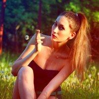 лесная нимфа :: Angelina Shtokolova