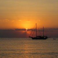 Утро в Кемере :: галина северинова