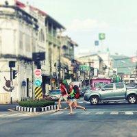 Two hitchhikers :: Мария Майданова