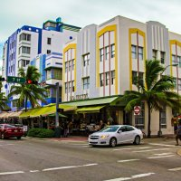Miami beach ocean drive :: Ксения Талых