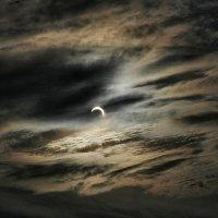 солнечное затмение на моем балконе :: Павел Федоров