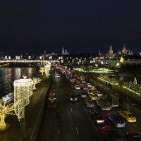 Вечерняя прогулка по Москве :: Светлана Карнаух