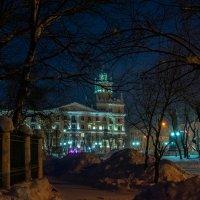 Дом со шпилем, г.Комсомольск-на-Амуре. :: Виктор Иванович