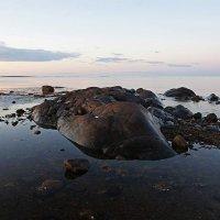 Белая ночь на Белом море :: Сергей Курников