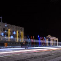 Интересный рисунок света :: Юрий Хайров