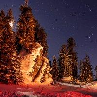 Ночной вояж в горы. :: Иван Иванов