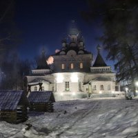 Храм ночью... :: Александр Широнин
