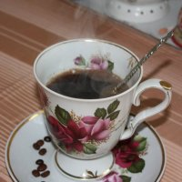 Утренний кофе. :: Liudmila LLF