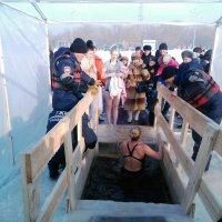 Нырнем в прорубь,на Крещение... :: Хлопонин Андрей Хлопонин Андрей