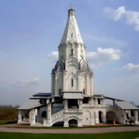Церковь Вознесения Господня в Коломенском (Москва) :: Ольга Довженко
