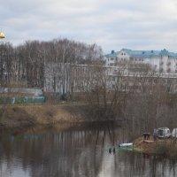 Великие Луки, 17 января 2020, подготовка купели... :: Владимир Павлов