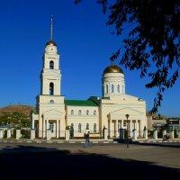 Восстановленный Троицкий собор в городе Вольск :: Лидия Бараблина