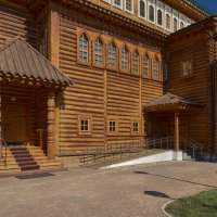 Внутренний дворик деревянного Коломенского дворца :: Aleks
