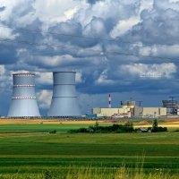 Стройплощадка Белорусской АЭС :: Илья Скупой