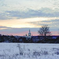 Вид на Пафнутьево-Боровский монастырь, Боровск :: Иван Литвинов