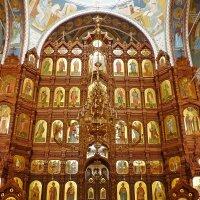 Иконостас Александро-Невского собора в Нижнем Новгороде :: Лидия Бусурина