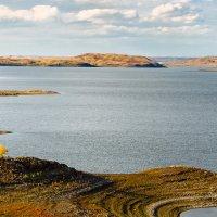 Каргалинское водохранилище :: Александр Никишков