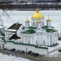 Благовещенский монастырь в Нижнем Новгороде :: Лидия Бусурина