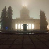 Когда туман опускается на город :: Людмила Зайцева