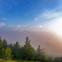Туман над ГЭС :: Василий Цымбал
