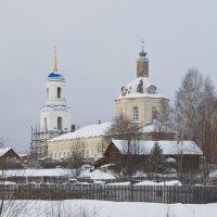 Сельский храм. :: Андрей Синицын