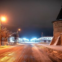 Прогулка по ночному городу. Юрьев-Польский. :: Владимир Крышковец
