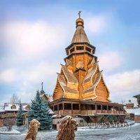 Храм и львы :: Юлия Батурина