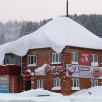 Зима - в снежных шапочках дома :: Galaelina ***