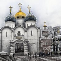 Сергиев Посад 21-01-2020 :: Юрий Яньков