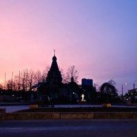 рассвет в Купчино в день юбилея Полного прорыва Ленинграда :: Елена