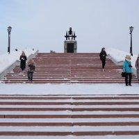 Лестница к превосходству :: Андрей + Ирина Степановы