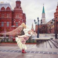 Полет над Красной площадью! :: Надежда Антонова