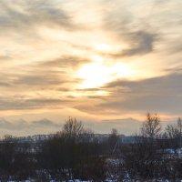 Закат зимой :: Натали Зимина